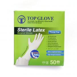 Manusi chirurgicale sterile NEPUDRATE Top Glove - cutie 50 perechi
