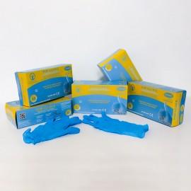 Manusi examinare nitril nepudrate Top Glove - cutie 100 buc