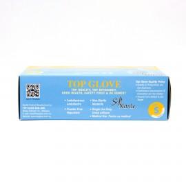 Manusi examinare nitril nepudrate Top Glove -  Bax 1000 Buc - 0,62 lei/Buc